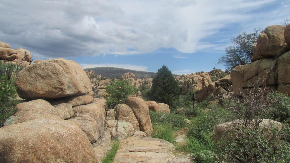 I love hiking in Prescott, Arizona. (2/4)
