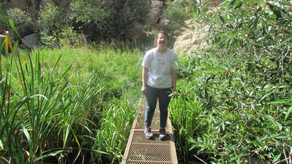 I love hiking in Prescott, Arizona. (3/4)