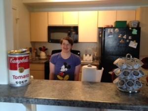 kirstin in the kitchen