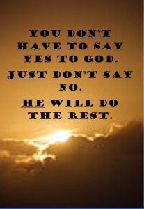 yest to God