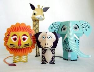 geometric-animals